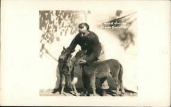 Rppc The Wild Horses From Grand Canyon-miniature Horses Real Photo Post Card