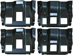 Front And Middle Cab Mount Floor Supports For 99-16 Ford F250 / F350 Super Duty