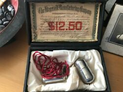Medical Quack Oxydonor Victory - Antique Medical Electric Device Pat. 1890