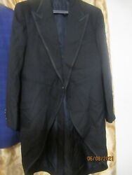 Nwt Tom Ford Italy Made Slim Tuxedo Coat With Tails 54r Eu 43r Us All Wool 4500