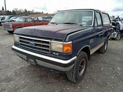 Hub Front With Lockout Mechanism Manual Locking Fits 87-93 Bronco 7884592