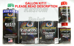 Stratto Blue Basecoat C2cbc04 House Of Kolor Shimrin2 Base And Clear Gallon Kit