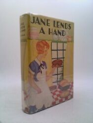 Jane Lends A Hand By Shirley Watkins Goldsmith Hardcover 1923 Reprint