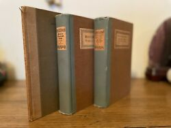 W B Yeats, 3 Signed Books 2 Limited Editions And 1 Trade Edition