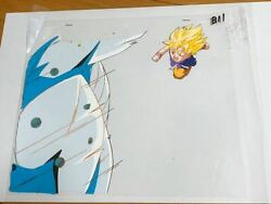 Things At The Time Dragon Ball Cell Painting Original Drawings Part 635