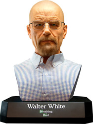 Supacraft Breaking Bad - Walter White 11 Scale Life Size Bust