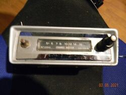 Early 1960and039s Vintage Channel Master Sanyo Car Radio