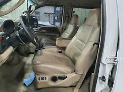 99-07 Ford F250sd F350sd Front Seats Bucket Captains Tan Leather