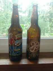2 Collectibles Empty Beer Bottles Sweetwater Dank Tank And Abita 30th Anniversary
