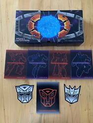 Transformers The Complete Series Dvd, 2009, 16-disc Set, 25th Anniversary...