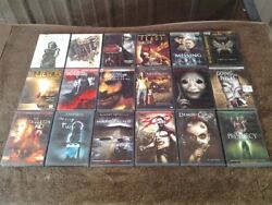 dvd Movies 18 Dvd Lot Horror/scare. 18 Movies Used