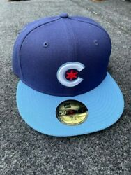 Chicago Cubs New Era 2021 Mlb City Connect 59fifty Fitted Hat Size 7 - In Stock