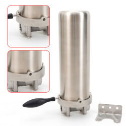 304 Stainless Steel Water Filter Housing Heavy-duty Shell Cylinder Npt 1/2 Sale