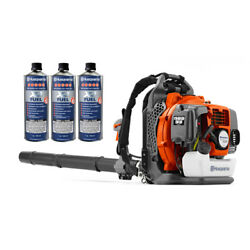Husqvarna 150bt Backpack Blower Hand Throttle 2 Cycle Gas W/ Pre-mix Fuel