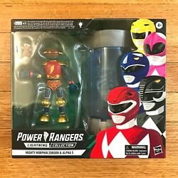 Power Rangers Lightning Collection Mmpr Mighty Morphin Zordon And Alpha 5 2pk Misb