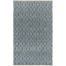 Surya Sao2007-46 Stanton 72 X 48 Inch Charcoal/ivory Rugs Wool And Cotton