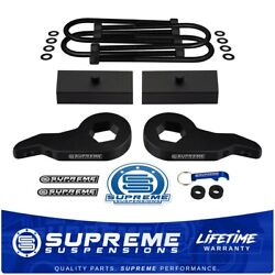 Up To 2.5 Front + 1 Rear Lift For 03-18 Express Savana 4x4 9/16 Round U-bolts