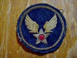 Wwii Us Army Air Corps Cbi Theatre Made Bullion Patch No Glow 2