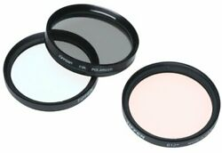 Tiffen 49mm Photo Essentials Kit With Uv Protector 812 Color Warming Circular...