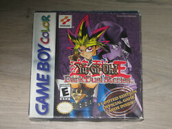 Yugioh Dark Duel Stories Game Boy Color No Game Or Cards, Rare 1st Print Box