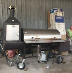 Custom Bbq Pit Smoker Pitts And Spitts Competition Grill Great Condition