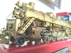 Rare Brass Bando T3t 4-8-2 Steam Loco Westside Ho Can Motor And Runs Great L@@k