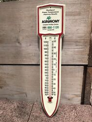Vintage Agricultural Farm And Garden Temperature Thermometer