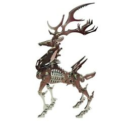 3d Stainless Steel Assembled Detachable Model Puzzle As Home Ornaments