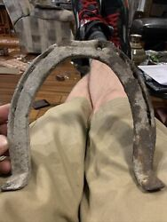 Antique Vintage Collectible Metal Horse Shoe Rusty Farmhouse Western Decor Used