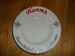 Vintage Hammand039s Hamms Beer Born In The Land Of Sky Blue Water Ceramic Ashtray