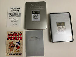 Walt Disney Treasures Mickey Mouse In Black And White Dvd 2002 2-disc Set Andhellip