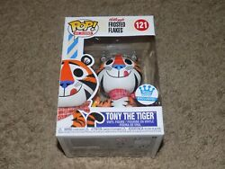 Funko Pop Kellogg's Frosted Flakes 121 Tony The Tiger Exclusive Vinyl Figure