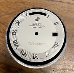 Rolex Day Date Ii 41mm Silver Roman Dial White Gold Day Date President