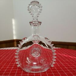 Remy Martin Louis Xiii Baccarat Crystal Decanter Bottle With Stopper Signed