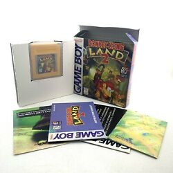 Donkey Kong Land 2nintendo Game Boy Authentic Complete In Box Cib With Inserts