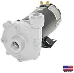Marine Septic And Washdown Pump - Stainless Steel - 3300 Gph - 1 Hp - 12 Volt Dc