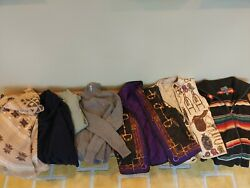 Lot Of 7 Sweaters And Vests S And Xs Equestrian