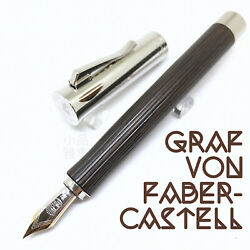Graf Von Faber Castell Special Edition Intuition Platino Wood Fountain Pen