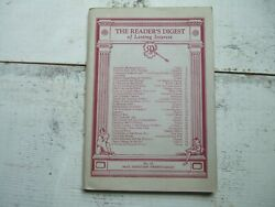 Vtg May 1928 Readerand039s Digest Magazine Stories Newspaper Best Of Articles Story