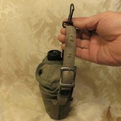 Us Mounted Cavalry Cover 1938 W Hanger Strap Canteen Vollrath 1944 Cup Beco