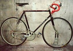 Vintage 1983 Soma Competition Road Bike 60 Cm Size Xl-xxl 12 Speed Campagnolo