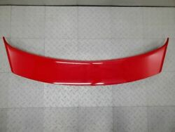 2004-2006 Pontiac Gto Spoiler Wing Sap Sport Appearance Package Red Cut Wire