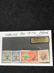 3 Stamp Set Rare Zeppelin And Air Mail Iceland Island M-lh