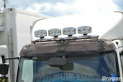 To Fit Mercedes Atego Steel Roof Led Spots Lamp Bar A+oval Led Spots+white Leds