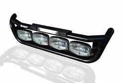 To Fit Mercedes Actros Mp4 Black Grill Light Bar C + Led Spots + Step Pad + Leds