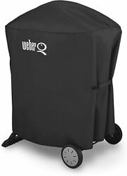 Weber 7113 Grill Cover For Q 1000 And 2000 Series With Q Portable Cart
