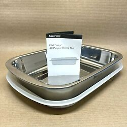 Tupperware Chef Series All Purpose Baking Pan With Seal Culinary Collection New