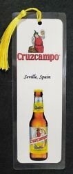 Worldwide Beer Bookmark - Hand Made - Choose Country A - I - 5 Ml - 8 X 3