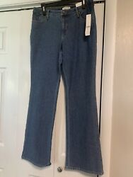 Coldwater Creek Size 12 Bootcut Jeans Nwt