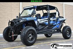 POLARIS RZR XP 4 SEATER TURBO EPS w OVER $7000 IN EXTRAS ONLY 1200 miles #3477 $26999.00